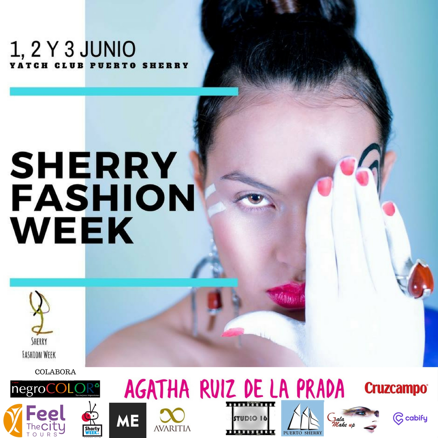 Cartel Sherry Fashion Week (con logos)