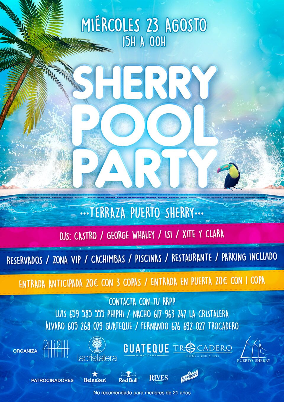 CARTEL POOL PARTY