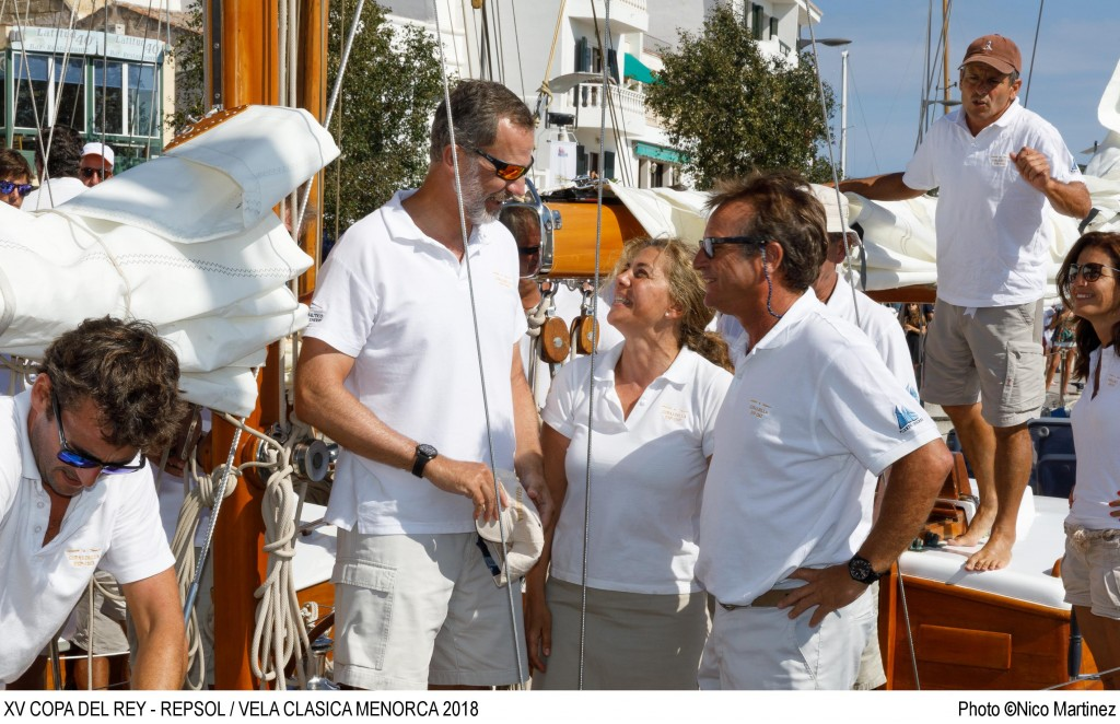 ©Nico Martinez I XV Copa del Rey - RepsolVela Clásica Menorca 2018